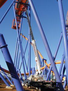 Hohenshilt Crane with Roller coaster