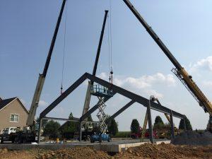 hohenshilt crane lowering frame