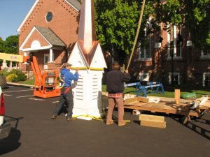 Hohenshilt Crane With Steeple for Church