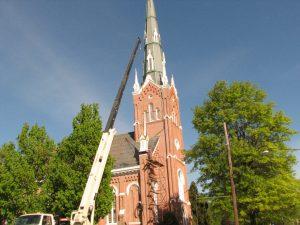 Hohenshilt Crane at Neffs Church