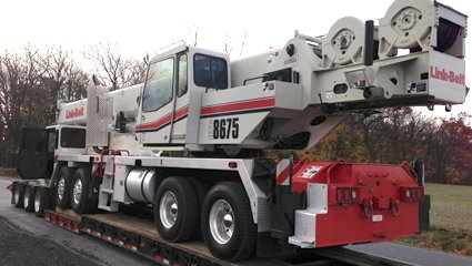 large Crane for rent